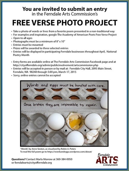 Free Verse Poetry Project 2015