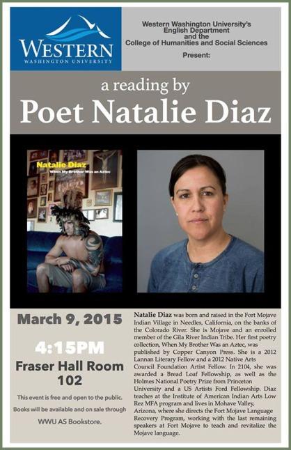 Natalie Diaz at WWU
