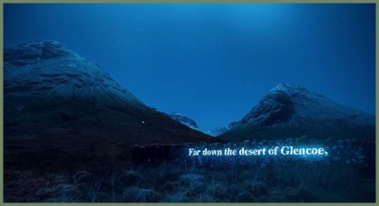 On the Massacre of Glencoe - Projection