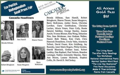 Cascadia Poetry Festival 2015
