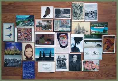 August Poetry Postcards