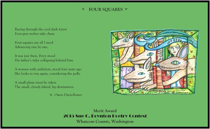Four Squares by Owen Davis-Bower