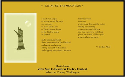 living on the mountain by Luther Allen