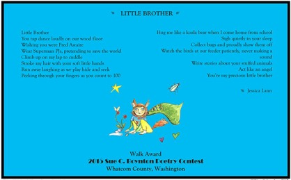 LITTLE BROTHER by Jessica Lann