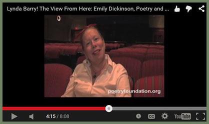 Lynda Barry on memorizing poetry