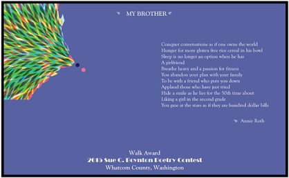 My Brother by Annie Roth