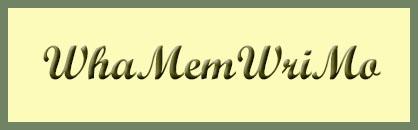 Whatcom Memoir Writing Month