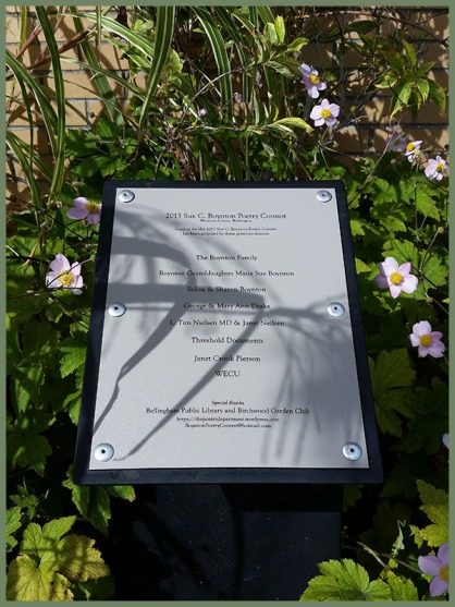 2015 SCB donor plaque