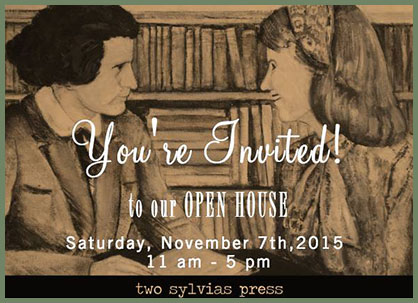 Two Sylvias Press open house