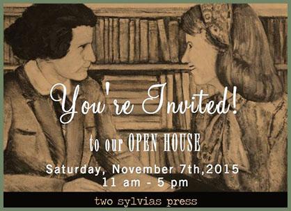 Two Sylvias Press open house