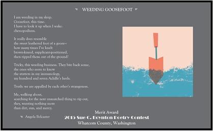 WEEDING GOOSEFOOT by Angela Belcaster