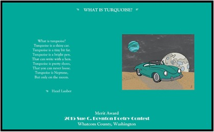 WHAT IS TURQUOISE by Hazel Lauber