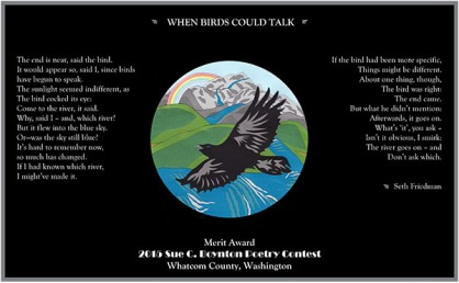 WHEN BIRDS COULD TALK by Seth Friedman