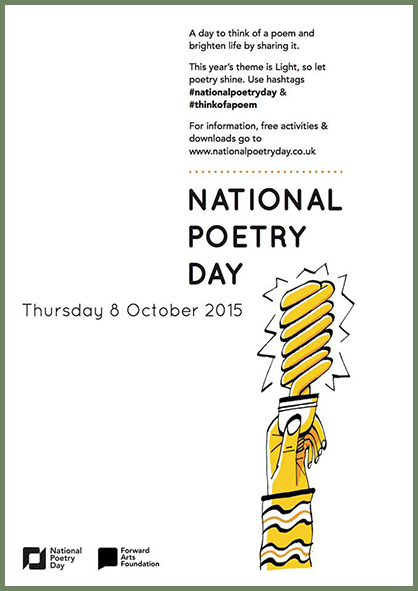 National Poetry Day 2015