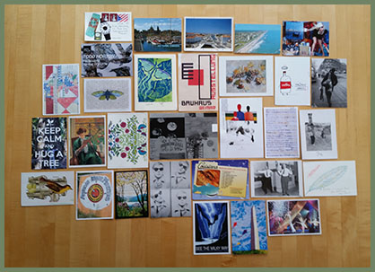 August Poetry Postcards 2015