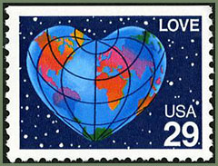 love stamp 29c