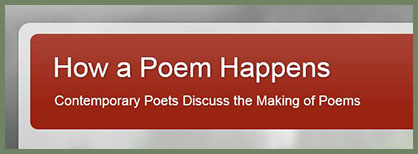 How a Poem Happens