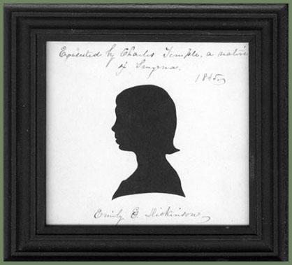 Emily Dickinson silhouette