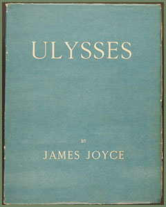 cover, Ulysses by James Joyce