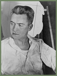 Hart Crane by Walker Evans