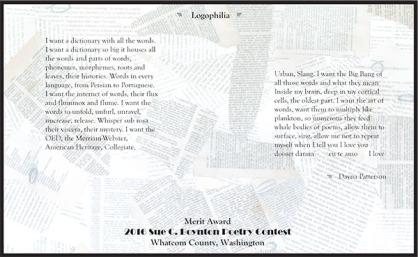Logophilia - Dayna Patterson