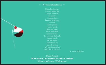 Nooksack Salutation - Leslie Wharton