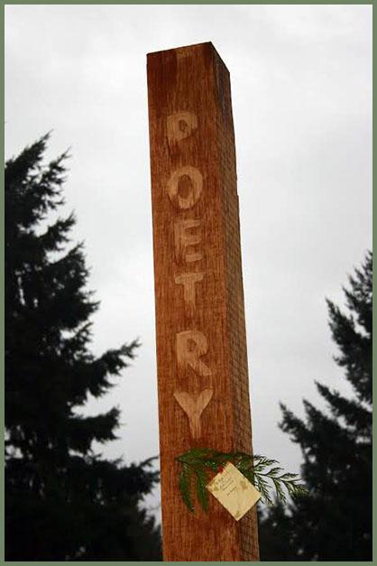 Vashon poetry post