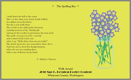 The Spelling Bee by Marlene Chasson