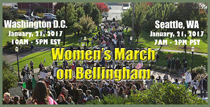 Women's March on Bellingham