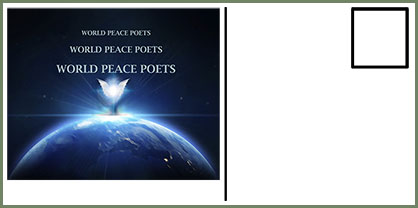 Peace Poetry Postcard
