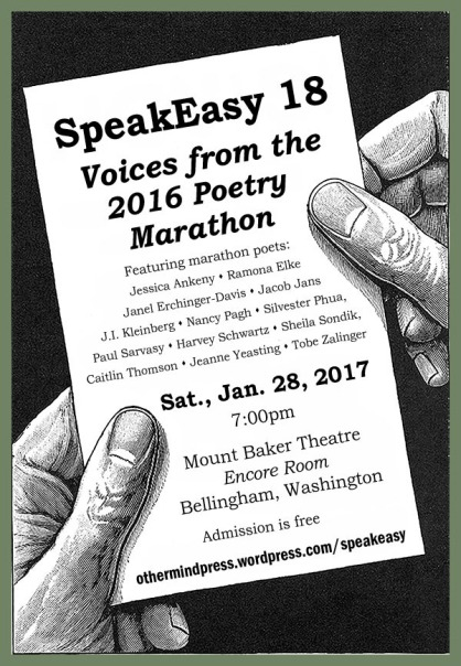 SpeakEasy 18: the Poetry Marathon
