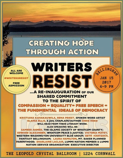 Writers Resist Bellingham