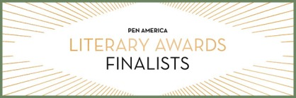 banner for PEN Literary Awards finalists